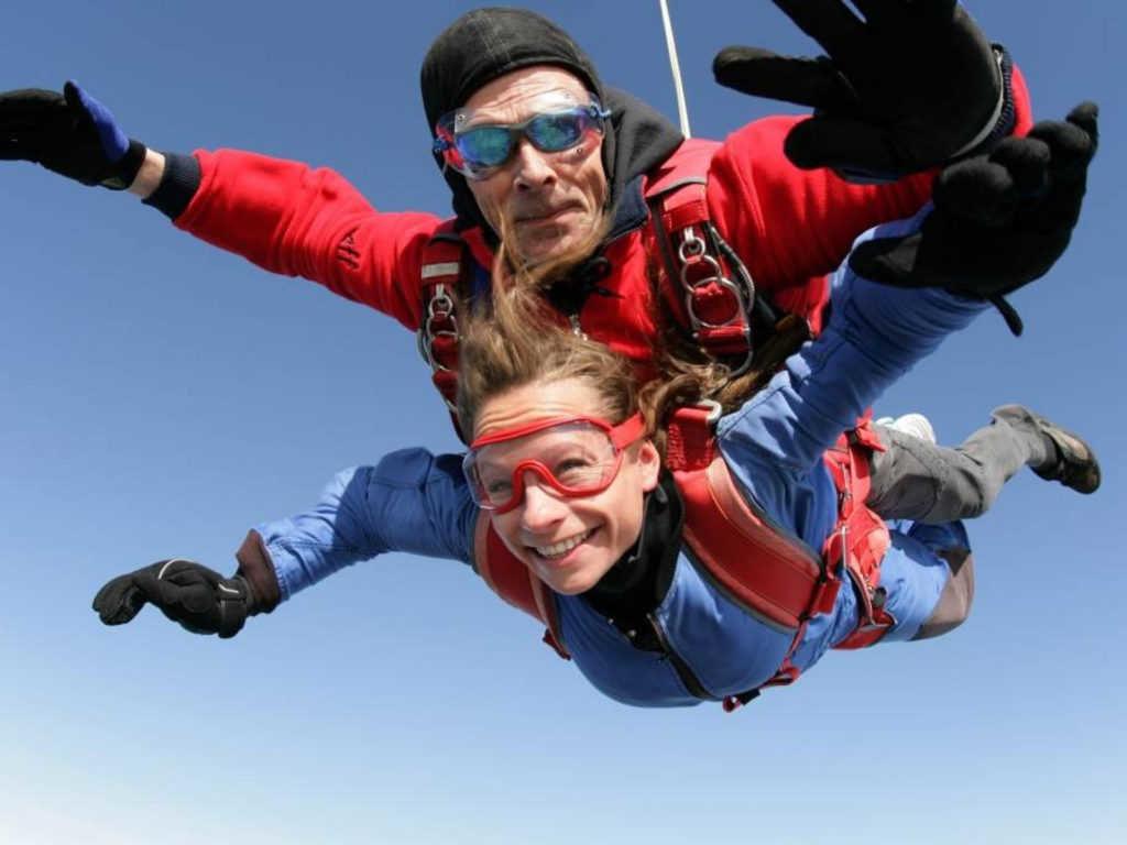 Parachute springen breda