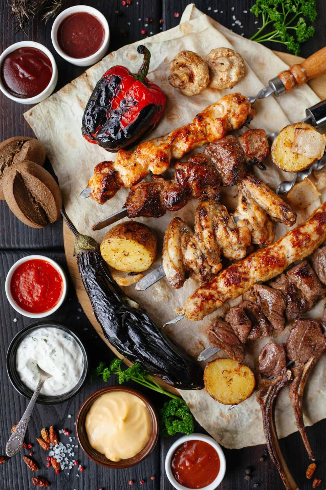 Een barbecue op Texel maakt het uitje helemaal compleet!